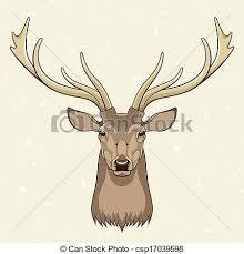 eps vectors of deer head vector illustration csp17039598 search