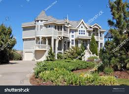 luxury beach house outerbanks north carolina stock photo 3515590