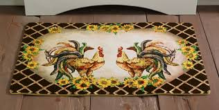 Round Rooster Rug Fantastic French Country Kitchen Rugs Round Rooster Kitchen Rugs