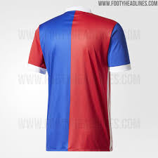 Design A Kit Home by Fc Basel 17 18 Home Kit Released Footy Headlines