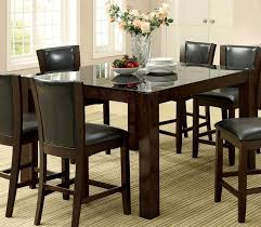 glass counter height table sets buy furniture of america cm3062pt astoria ii counter height table