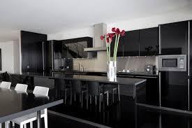 cuisine laqué noir emejing cuisine equipee noir laque ideas matkin info matkin info