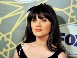zooey deschanel long hairstyles zooey deschanel hair stylebistro
