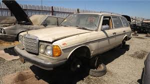 mercedes northern california junkyard treasure 1984 mercedes 300td autoweek