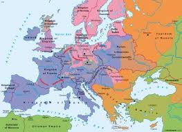atlas map of europe maps the reformation in europe circa 1570 diercke