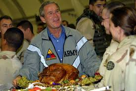 the history chef george bush s top secret thanksgiving dinner