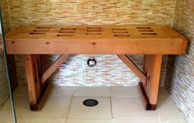 wood shower benches top tips to care for them household guardians