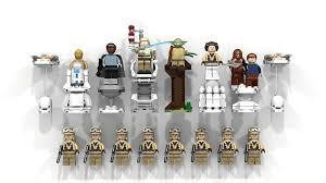 lego ideas star wars chess the empire strike back