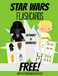 free star wars alphabet number flashcards free printables