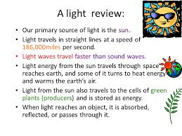 does light travel faster than sound images Light and optics what is light ppt video online download jpg