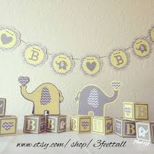 neutral baby shower decorations elephant baby shower decoration package gender neutral baby