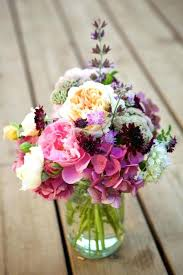 variety of blooms purple flower centerpieces images flowers