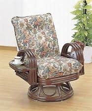 rattan recliner chairs ebay