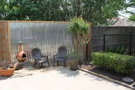 Privacy Fence Ideas For Backyard Transitional Backyard Decor With Exceptional Crafty Diy Privacy