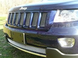 jeep grand website 2011 jeep grand cut mesh grille insert chrome