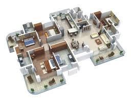 Home Design 3d Ipad Toit 4 Bedroom Apartment House Plans 35 Apartment Layout Ideas