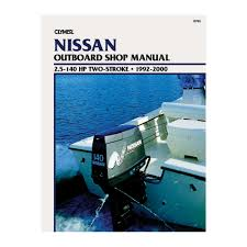 clymer nissan 2 5 140 hp two stroke outboards 1992 2000 b793