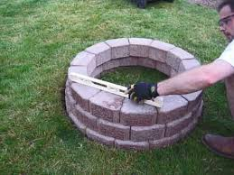 Outdoor Brick Patio Ideas  Outdoor Stone Fire Pits Designs For - Backyard firepit designs