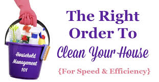 how to spring clean your house in a day how to clean your house what order should you clean in