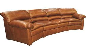 Sofa Curved Curved Sofa Creative Leather