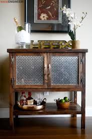 Diy Bar Cabinet Bar Cabinet Rogue Engineer