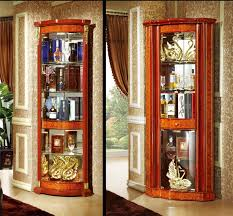 modern drinks corner curio cabinet canada buy corner curio