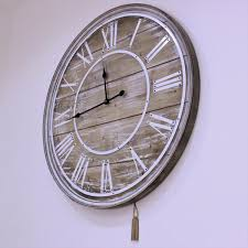 large shabby chic wall clocks 12 000 wall clocks