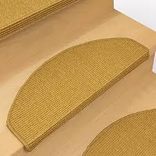 treppe fliesen kante 15 x teppich stufenmatten treppenstufen 100 sisal natur