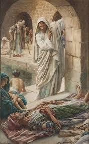 Blind Man At Bethsaida Harold Copping A Man Healed At The Pool Of Bethesda John 5 5