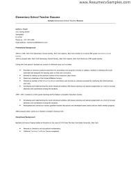 resume format for teacher job best resume collection
