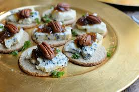 m and s canapes a duet of canapés and chagne lavender and lovage