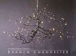 branch chandelier this geeky house enchanted forest inspired home and garden