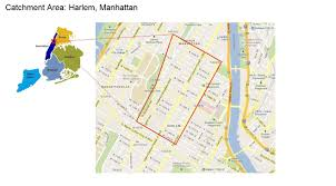 Harlem Map New York by North Harlem Manhattan John Jay College Research And Evaluation