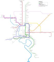 Red Line Metro Map by Urbanrail Net U003e Asia U003e Thailand U003e Bangkok Metro