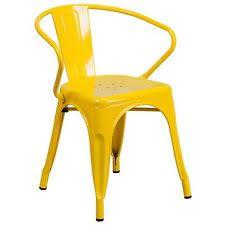 Tolix Style Metal Industrial Tabouret Bistro Arm Chair Restaurant