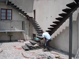 ringhiera fai da te scala ferro inox carpenteria metallica perotti livio barge