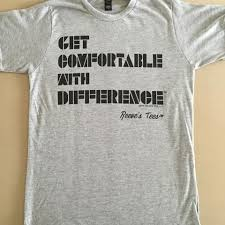 Get Comfortable Get Comfortable With Differencetm Short Sleeve Soft Tee