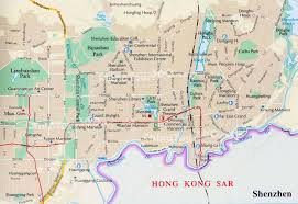 China City Map by Shenzhen Maps Detailed China Shenzhen Attraction