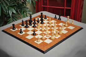 Modern Chess Table The Modern Series Chess Set 3 75