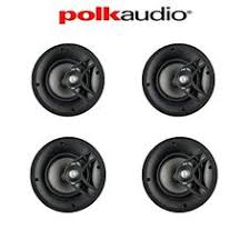 Polk Audio Rc80i 2 Way In Ceiling Speakers by Polk Audio Rc80i 2 Way In Ceiling In Wall Speakers Pair White