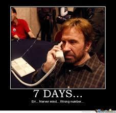 Memes De Chuck Norris - 7 days chuck norris by flox meme center