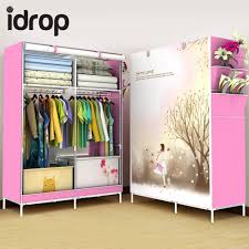 idrop fashion simple multi functional roll up curtain clothes