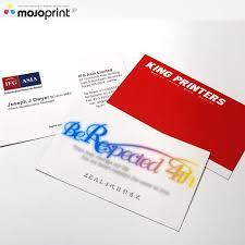 Matt Laminated Business Cards Matt Pp Business Cards Mojoprint Jp