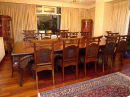 Japanese Dining Room Furniture by Real Antique Quality 19th Century Japanese Dining Table And