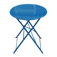 Garden Bistro Table 3 Metal Garden Bistro Set Table 2 Chairs Cobalt
