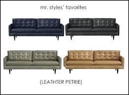 Leather Sofa Problems Petrie Leather Sofa Adrop Me