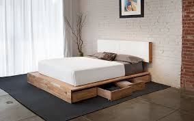 Platform Bed Drawers Storage Bed Laxseries