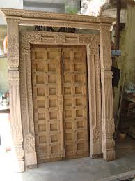 Wood Exterior Doors For Sale Antique Door For Sale Aroun 150 Years Ancient Doors With Carving