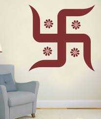 Swastik Decoration Pictures Impression Wall Swastik Design Wall Sticker Buy Impression Wall