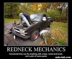 Funny Mechanic Memes - funny car redneck motor repair